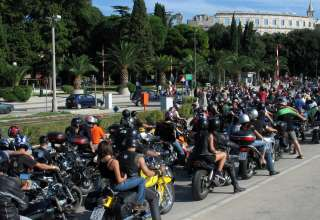 Croatia biker week-Pula