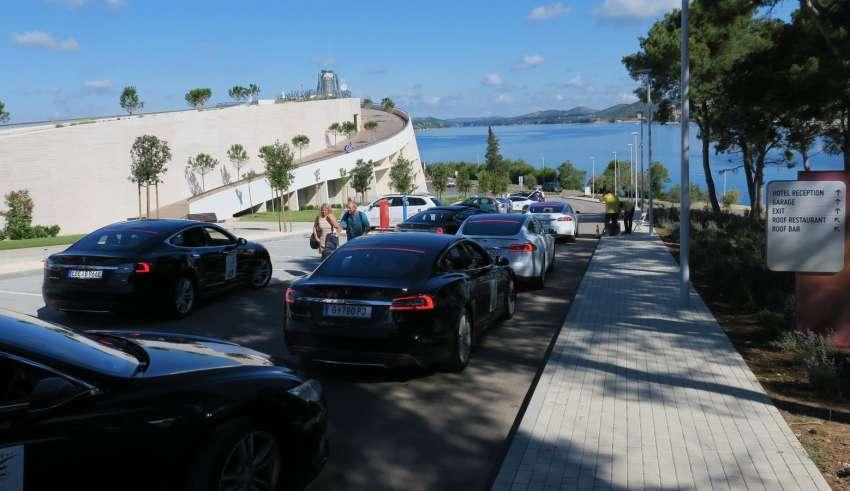 Nikola Tesla EV Rally Croatia