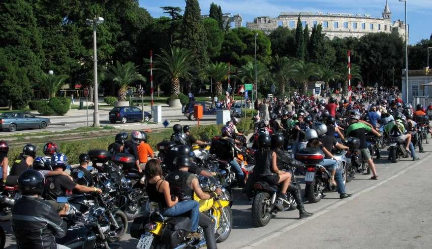 Croatia biker week-Pula