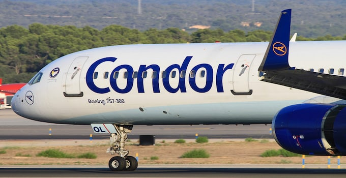 Condor Flüge Heute